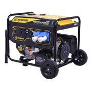Gerador a Gasolina 8500 Partida Elétrica 4 Tempos Bifásico