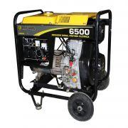 Gerador Diesel 6500 Partida Elétrica 127/220 Seminovo Matsuyama