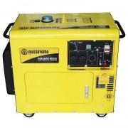 Gerador Diesel Silenciado 8000 Bivolt 127/220V 6.7KVA 13HP