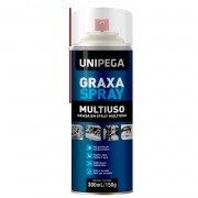 Graxa Spray Aerosol Multiuso 300ml 150g Unipega