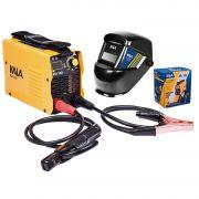 Inversor Solda 130A Bivolt Tig Máscara Solda Automática Kala