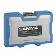 Kit para Furadeira e Parafusadeira 51 Peças G19513AC Gamma