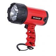 Lanterna 200 Lumens Profissional Recarregável Bivolt 127/220V Worker