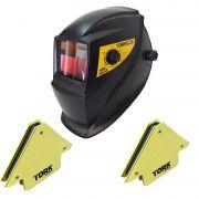 Máscara De Solda Escurecimento Automático 24kg Esquadro Tork
