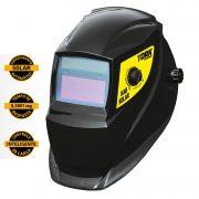 Máscara De Solda Escurecimento Automático Com Regulagem Tork