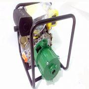 Motobomba Diesel Partida Manual 7hp 6 Estágios Alta Pressão