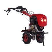 Motocultivador Tratorito TTD110 Diesel Partida Elétrica Com Rodas e Enxadas Toyama
