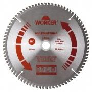 Disco Serra Circular Multimaterial 10 Polegadas 80 Dentes 471607 Worker