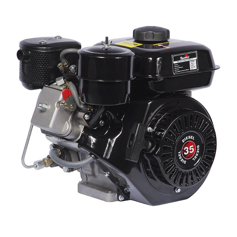 Motor Estacionário a Diesel 3.3HP 196CC Partida Manual Toyama