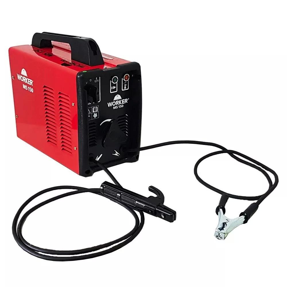 Transformador de Solda 150A Turbo MS150 Bivolt 127/220V Worker