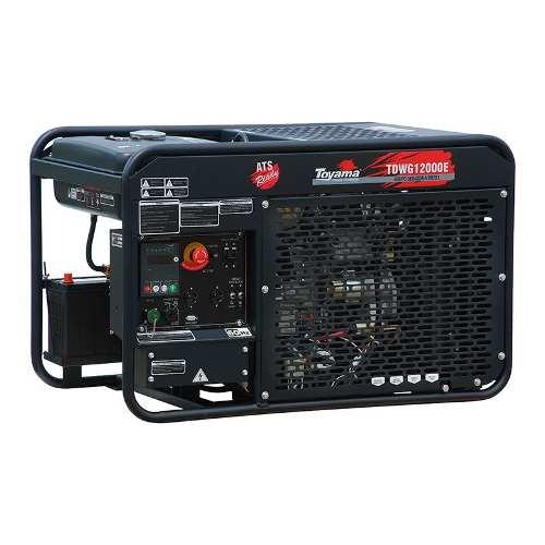Gerador A Diesel Refrigerado a água Tdwg12000e Bifásico 110/220V Toyama