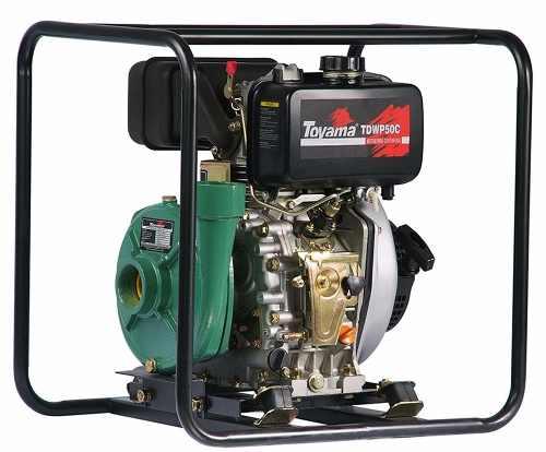 Motobomba a Diesel 7HP Partida Manual Irrigação Toyama