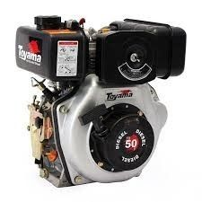 Motor A Diesel 5hp P.m. Ótimo Para Rabeta, Eixo Chavetado