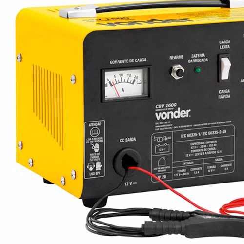 Carregador de Baterias Vonder CBV1600 12V Vonder