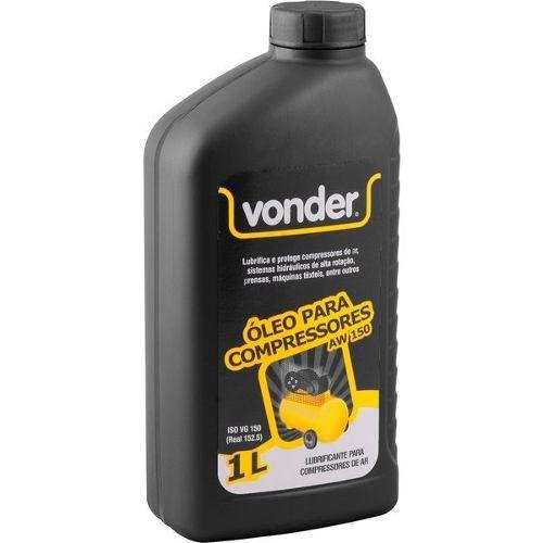 Oleo Para Compressor Hidráulico Aw150 1 Litro Vonder