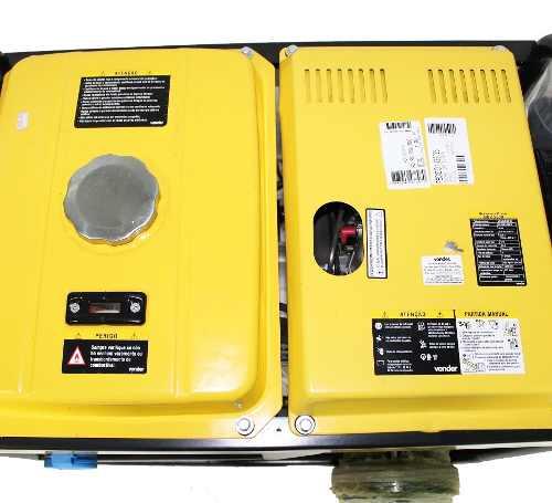 Gerador Diesel Part Elétrica Bifásico Gdv5500 Mostra Vonder