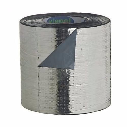 Manta Autoadesiva Com Alumínio 10cm X 10 Metros
