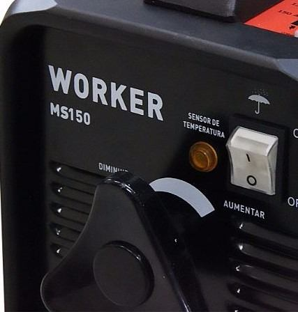 Transformador de Solda 150a MS-150 Worker (REEMBALADO)