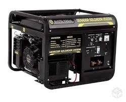 Gerador Soldador 2 KVA Monofásico a Gasolina 13 HP Matsuyama 2000W