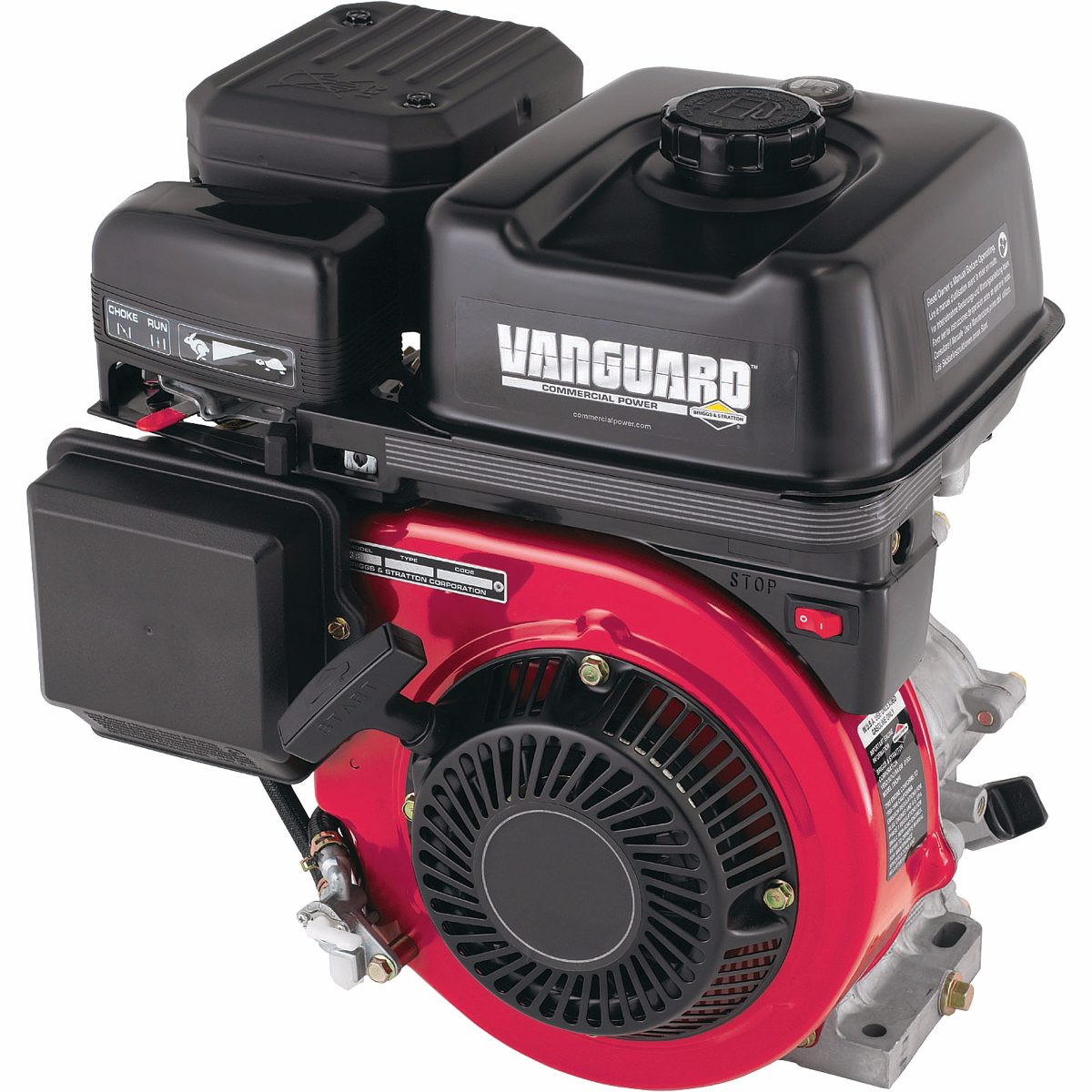 Motor Horizontal a Gasolina 13 HP Partida Manual Vanguard Briggs & Stratton