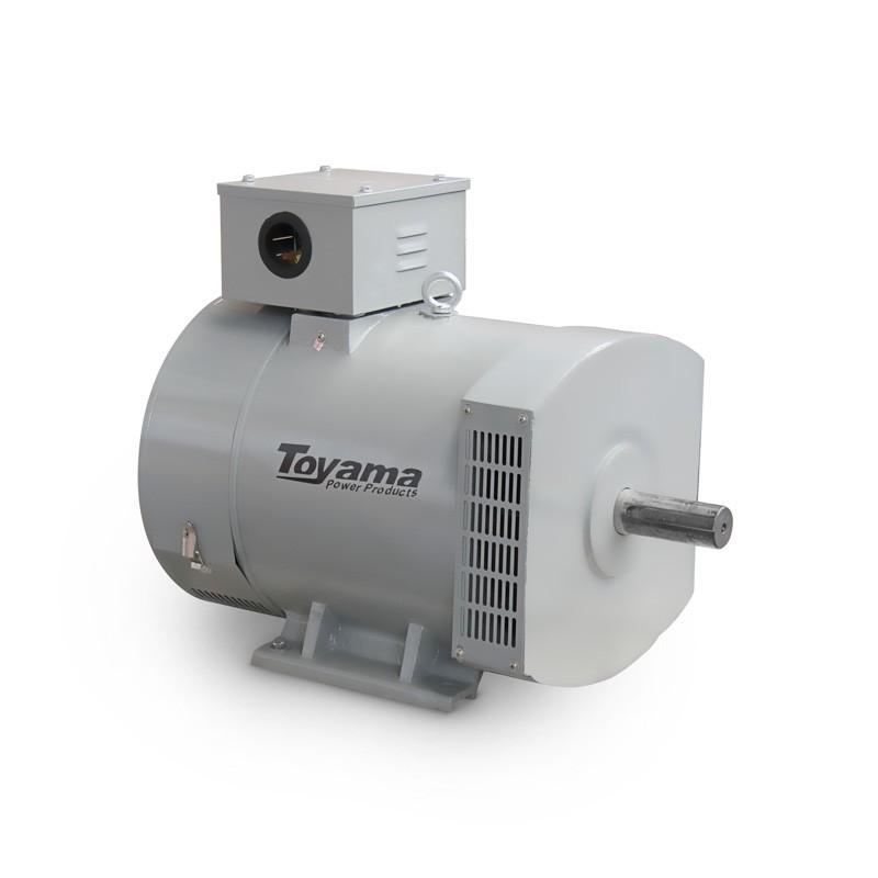 Alternador para Gerador de Energia 20 KVA Trifásico 110/220V TA20CT2 Toyama
