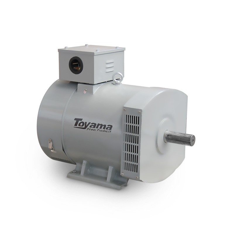 Alternador para Gerador de Energia 8 KVA Trifásico TA8CT2 Toyama
