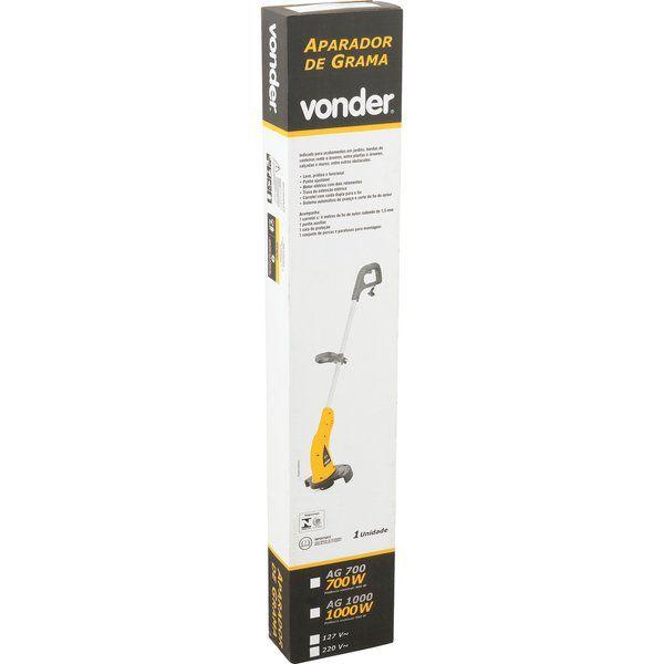 Aparador de Grama Elétrico 1000W AG1000 Vonder