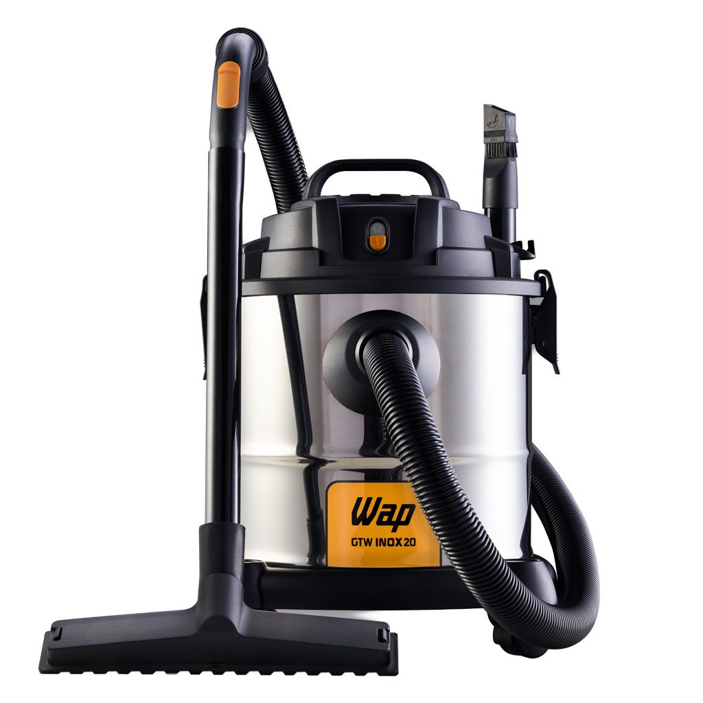 Aspirador Água e Pó Pro Inox 20L 1600W Wap