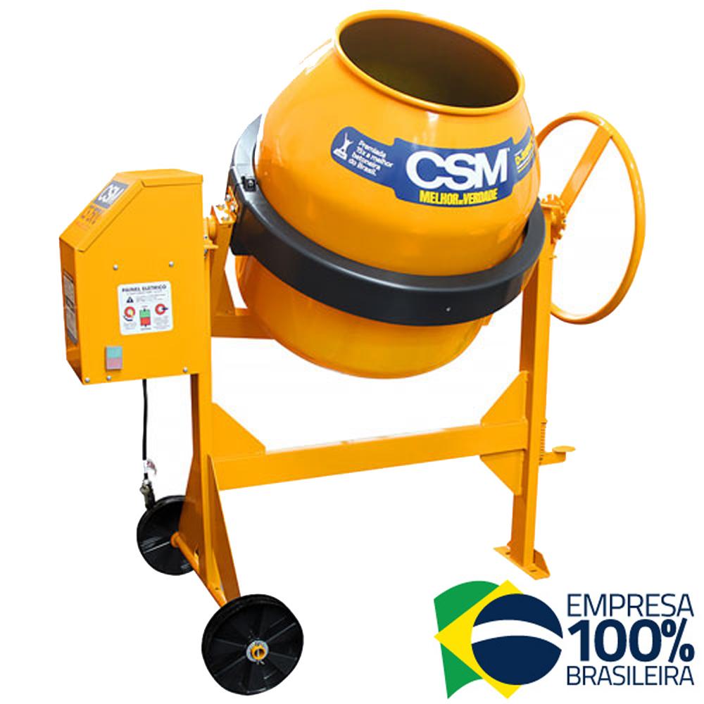 Betoneira CS 150 Litros 0,5cv com Painel Monofásico CSM