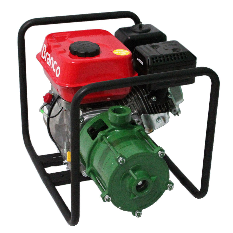Bomba 4 Estagio Irrigação Alta Pressão Motor 5.5 Gasolina