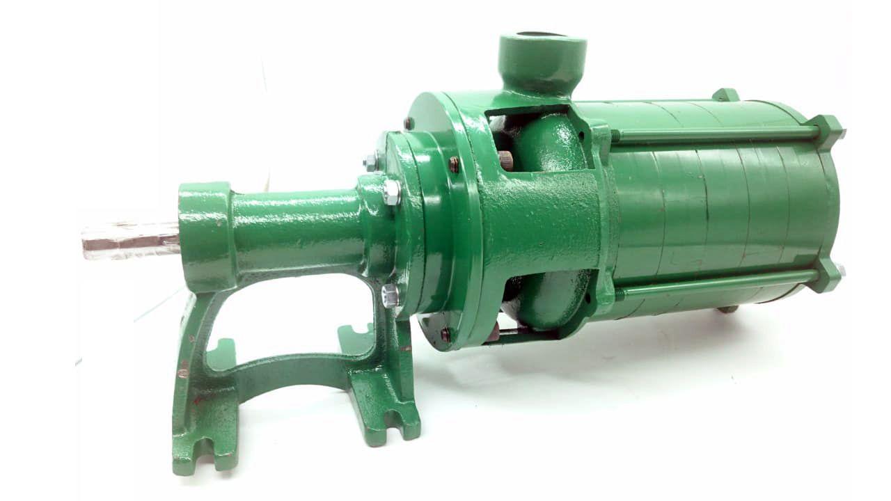 Bomba 6 Estágios Alta Pressão Para Irrigação Mancalizada