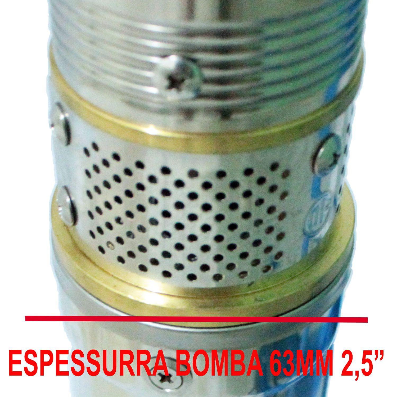 Bomba Poço Artesiano 63mm (2,5 Polegadas) 1/3HP Até 40 Metros Venda Exclusiva