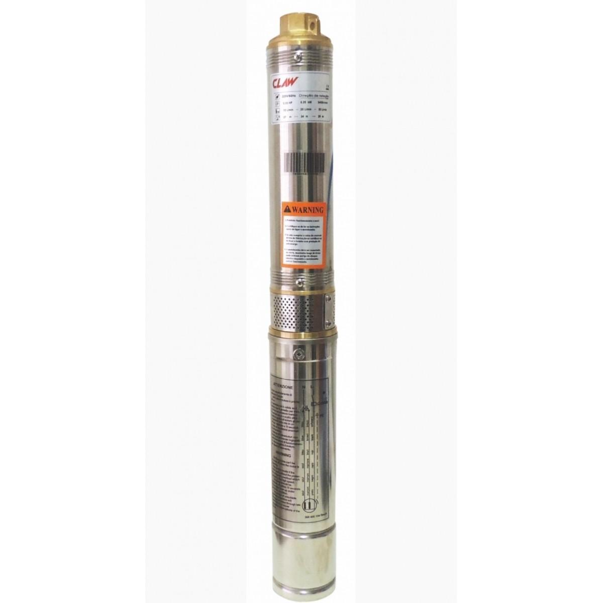 Bomba Poço Artesiano 63mm (2,5 Polegadas) 1/3HP Até 50 Metros Venda Exclusiva