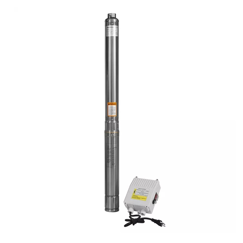 Bomba Poço Artesiano com Controle 1HP 3/14 100mm G1726 Gamma