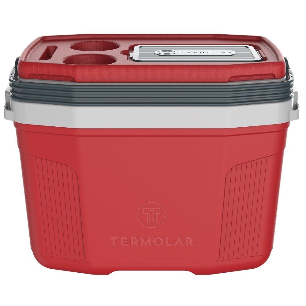 Caixa Térmica SUV 20L Vermelho Romã com Cinza Termolar