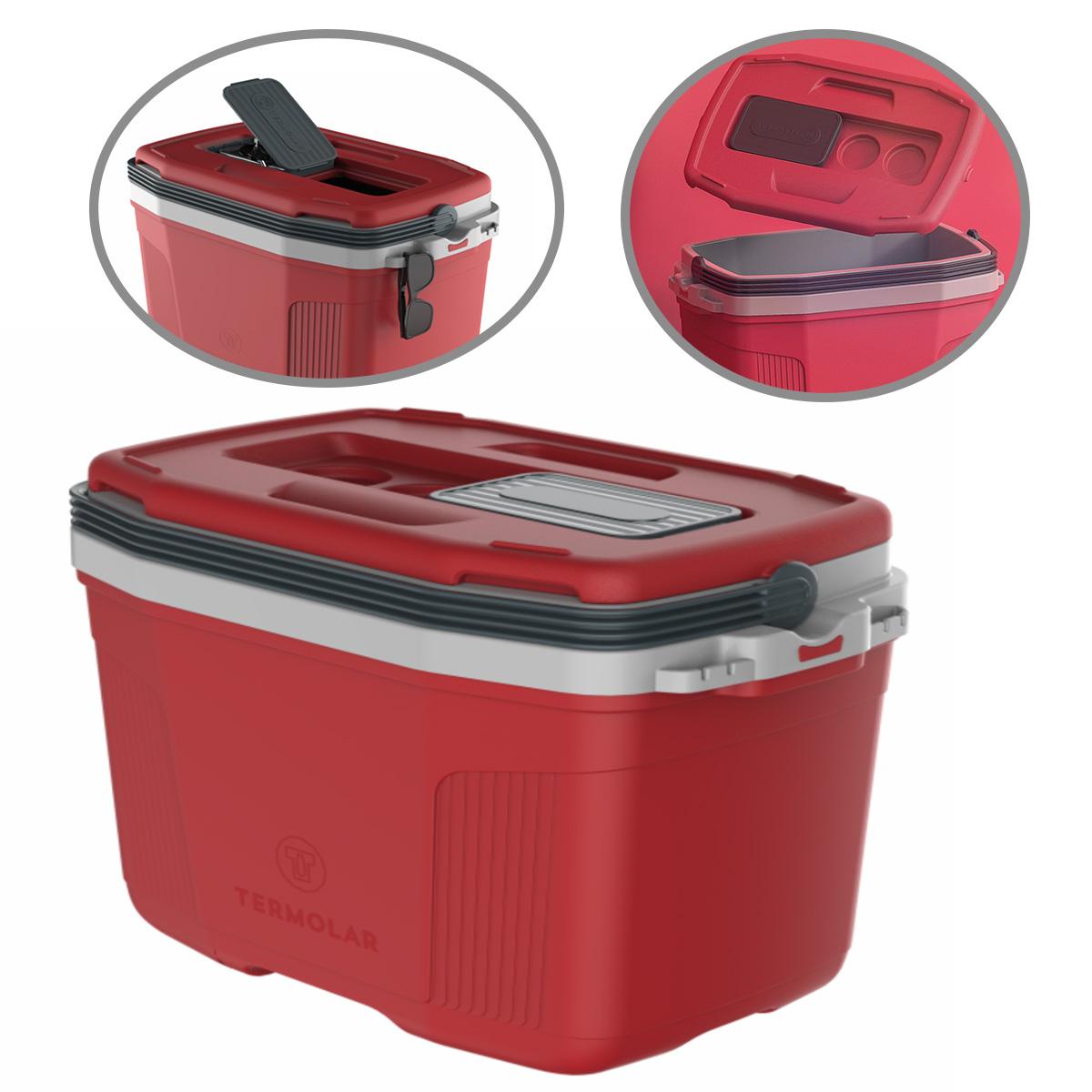 Caixa Térmica SUV 32 Litros Vermelha Termolar