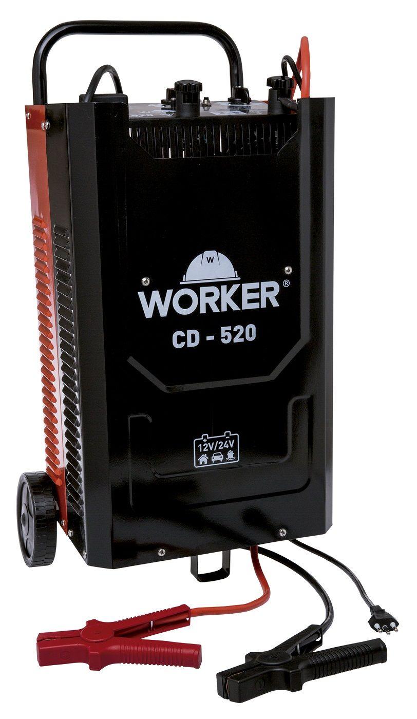 Carregador de Baterias Profissional CD520 Bivolt Worker
