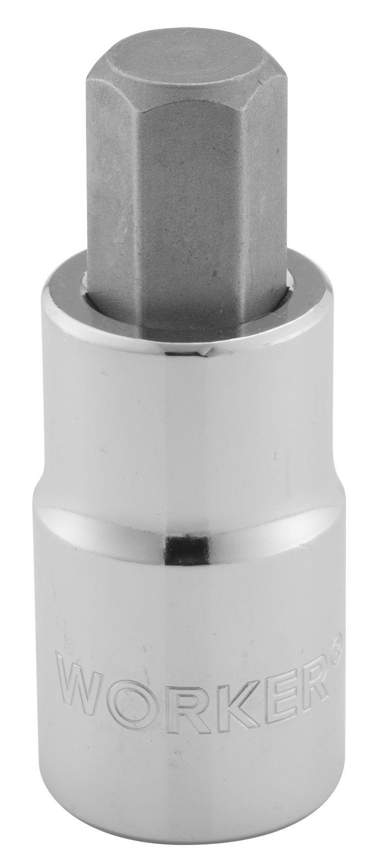 Chave Soquete Encaixe de 1/2 Hexagonal Medida 7mm Worker