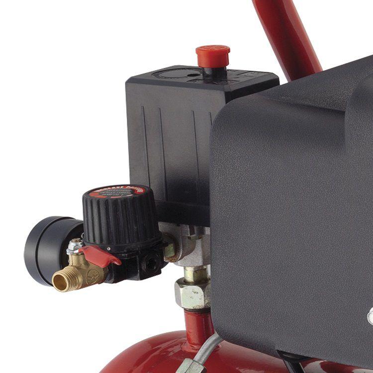 Compressor de Ar Profissional 1 HP 6 Litros Worker