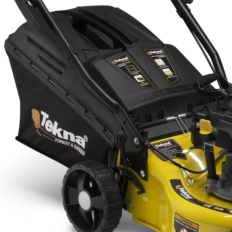 Cortador de Grama a Gasolina 3.5 HP 99CC Tekna COM RECOLHEDOR