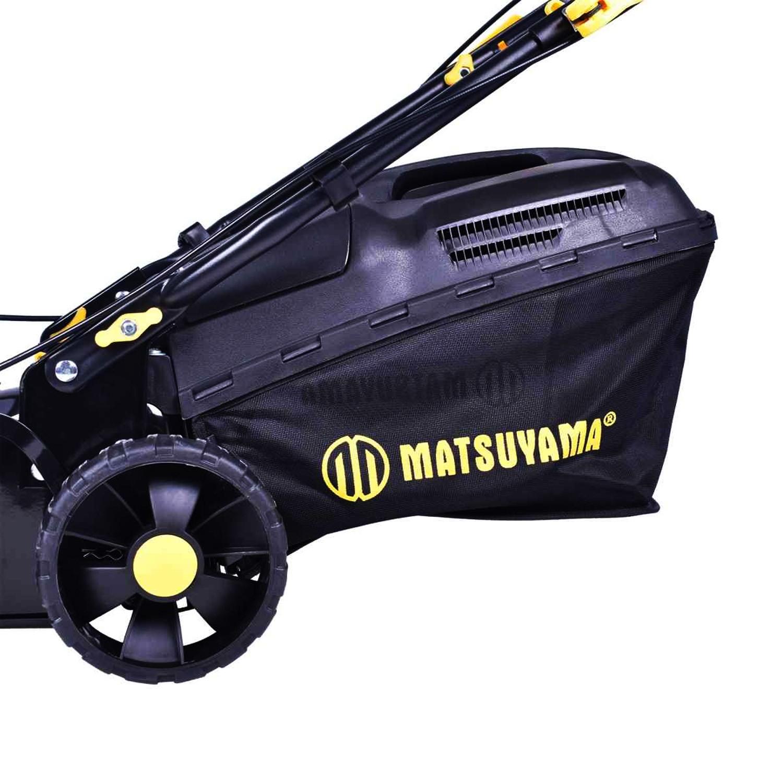 Cortador de Grama a Gasolina 3.5HP com Recolhedor Matsuyama