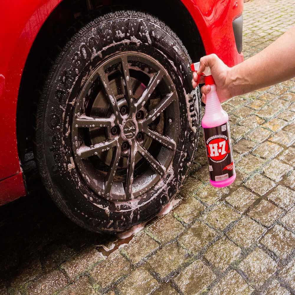 Desengraxante Multiuso 1 Litro com Spray H7