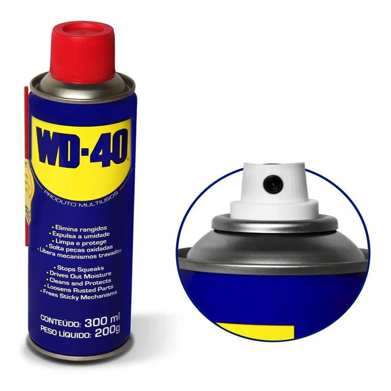 Desengripante Multiuso Tradicional Spray 300ml WD-40