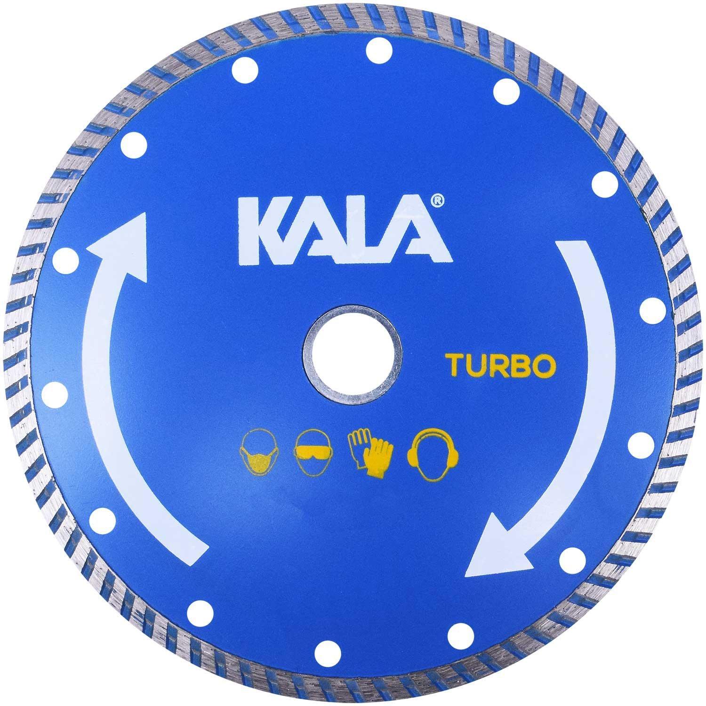 Disco Diamantado Turbo 180X25;4MM Kala