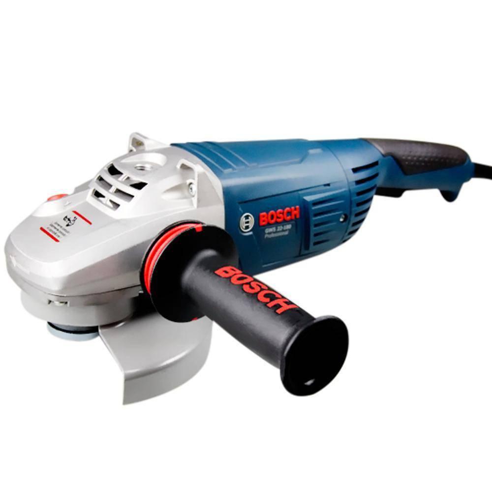 """Esmerilhadeira Angular 7"""" GWS 22-180 - Bosch"""