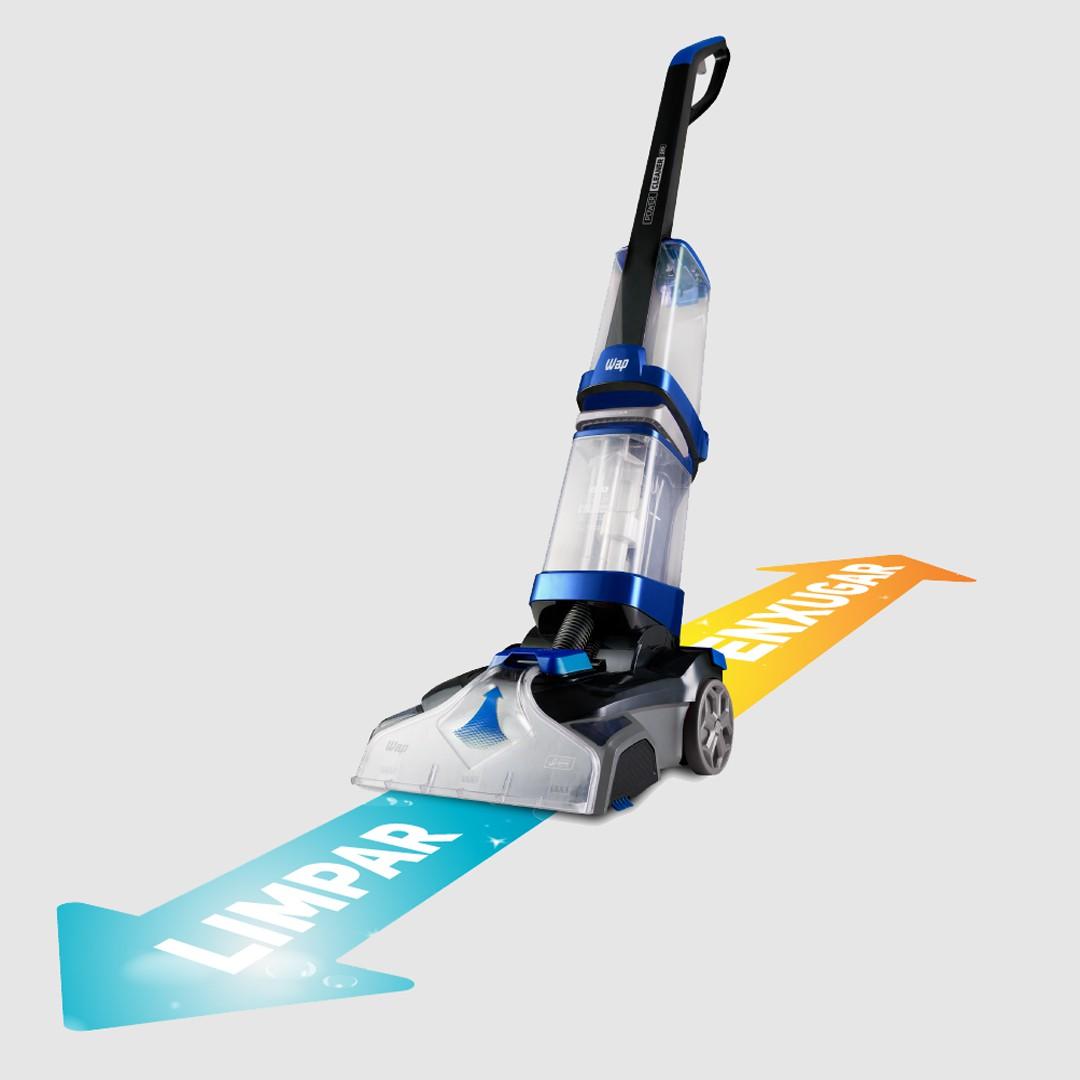 Extratora e Aspiradora Vertical Power Cleaner Pro Wap 2000W
