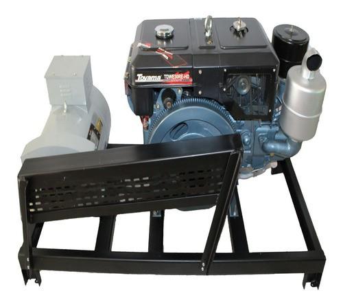 Gerador 17.5 Kva Diesel Partida Elétrica Monofásico 110/220V
