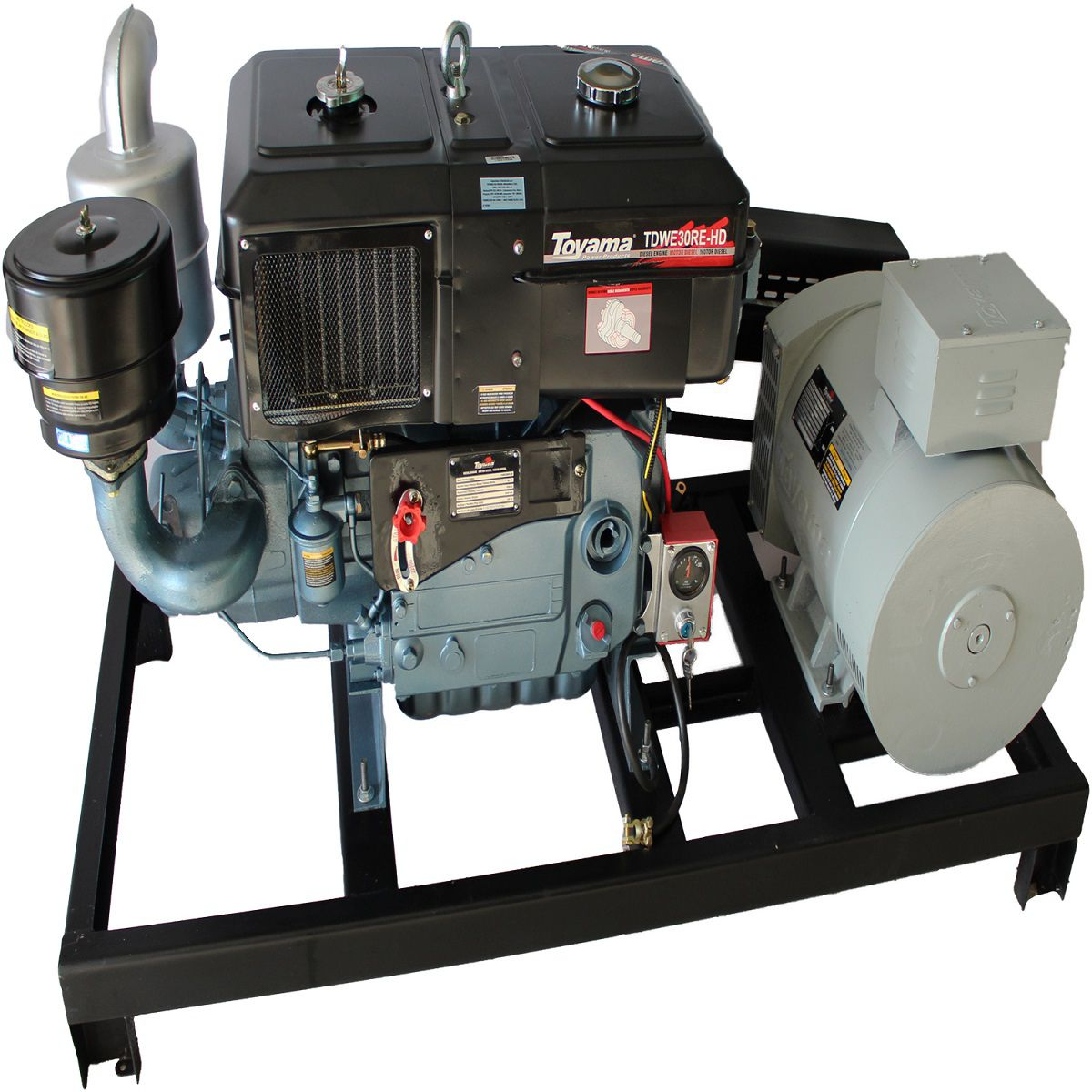 Gerador 21.6 Kva Diesel Partida Elétrica Trifásico 110/220V