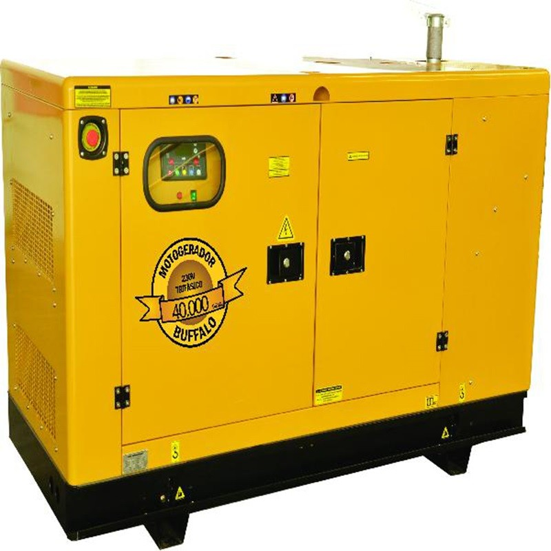 Gerador 40 KVA Trifásico 220V a Diesel 64 HP BFD 40000 Buffalo