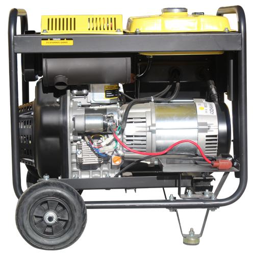 Gerador 5.3 KVA Monofásico a Diesel Matsuyama 6500 Partida Manual